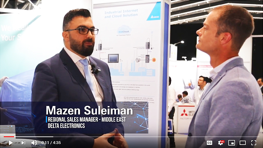 Mazen Suleiman - Regional Sales Manager at Delta Electronics Middle East