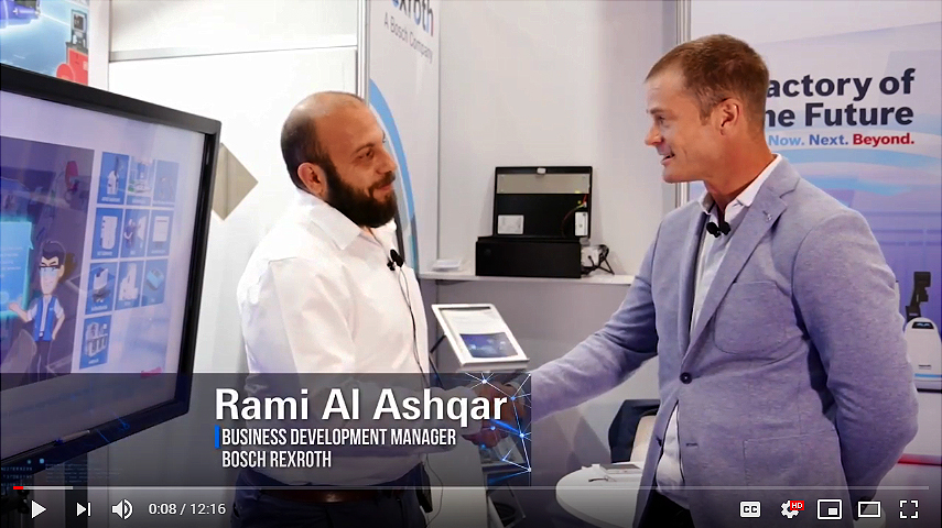 Rami Al Ashqar - Business Development Manager - Bosch Rexroth